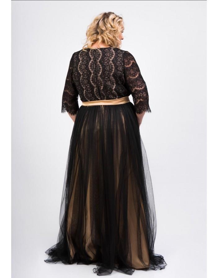 Платье Эфелия maxi XL
