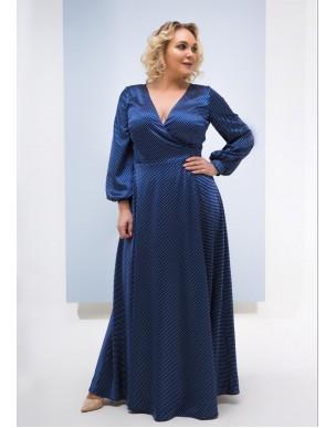 Платье Санрини (Р) XL (горох)